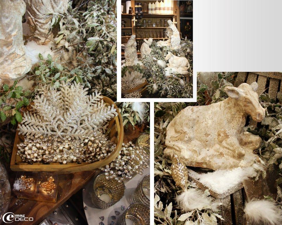 La crèche de Noël de la boutique De Bouche à Oreille