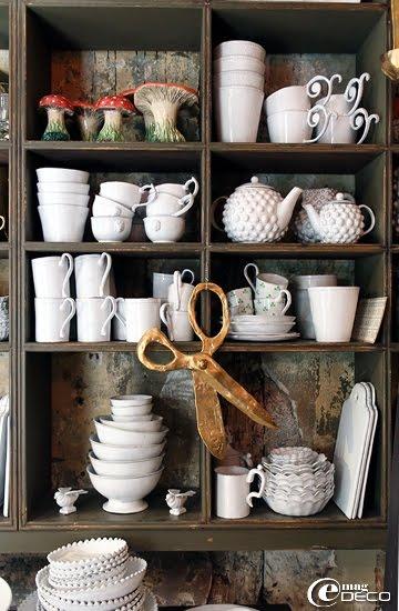 Vaisselle Astier de Villatte et céramique Kühn Keramik