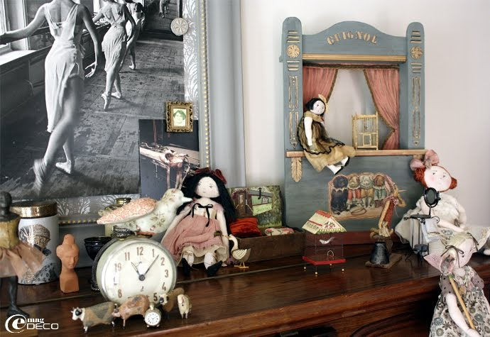 Création de poupées de collection Le Jardin des Farfalous