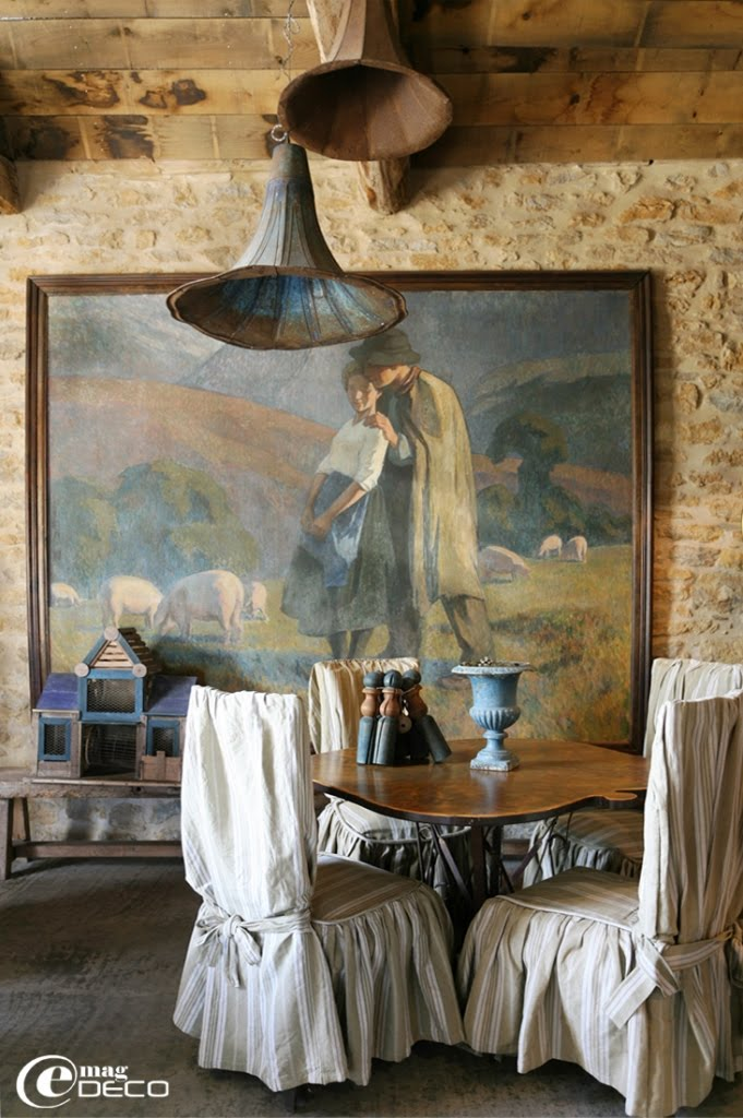 Château de Labro, a guest castel in Aveyron, a report of the magazine of decoration e-magDECO