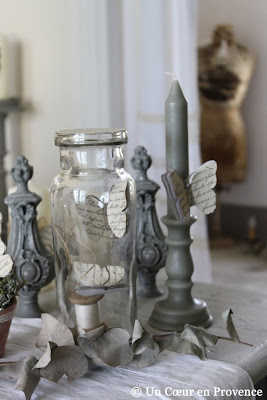Decorative objects patina, charm and antique