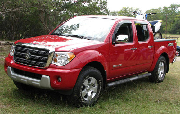 2010 Suzuki Equator Crew Cab Best Design