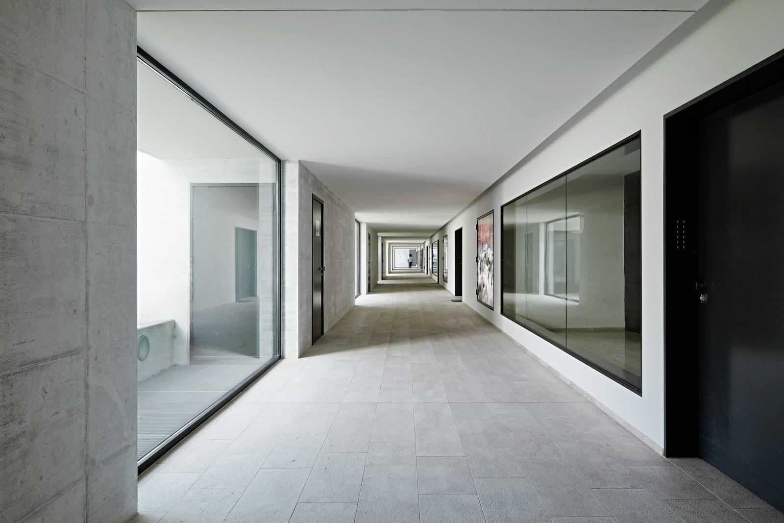 Arch plus 355 residential complex in the paul clairmont strasse zurich gmur steib - Gmur architekten ...