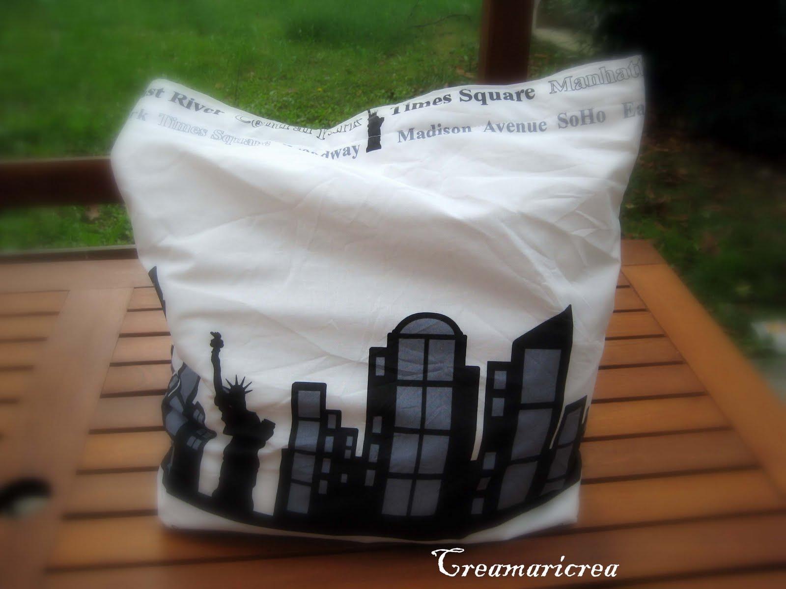 Creamaricrea: shopping bag...a new york