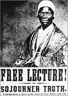 the history of sojourner truth Sojourner truth (/ s oʊ ˈ dʒ ɜːr n ər a journey through history michals, debra sojourner truth national women's history museum 2015 last edited on.