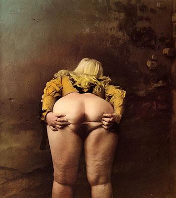 Fotógrafo Jan Saudek - bizarrice que encanta Jan+Saudek06