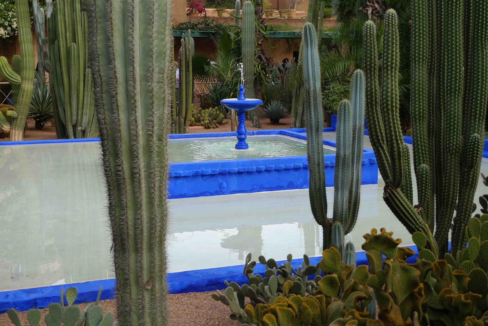 Jardin Majorelle Marrakesh Moroccoshort Life Quotes