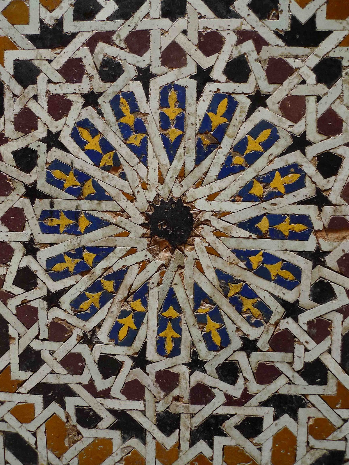 Jeffrey bale 39 s world of gardens the colors of morocco for Fez tiles