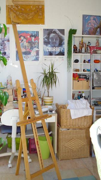 Mon atelier de peinture