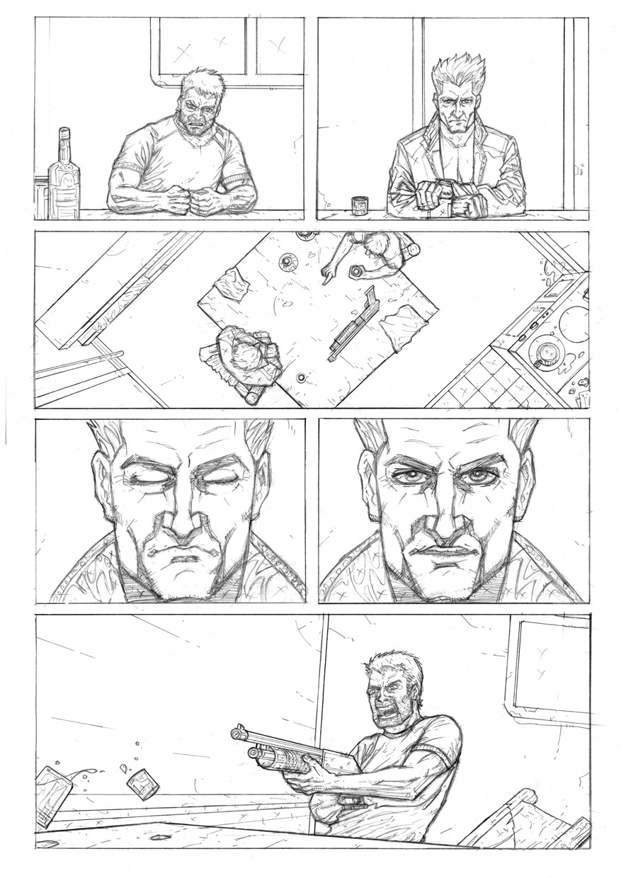 Some More Comic Book Samples The Script Is A Marvel Comics Son Of Satan Written By Rob Williams