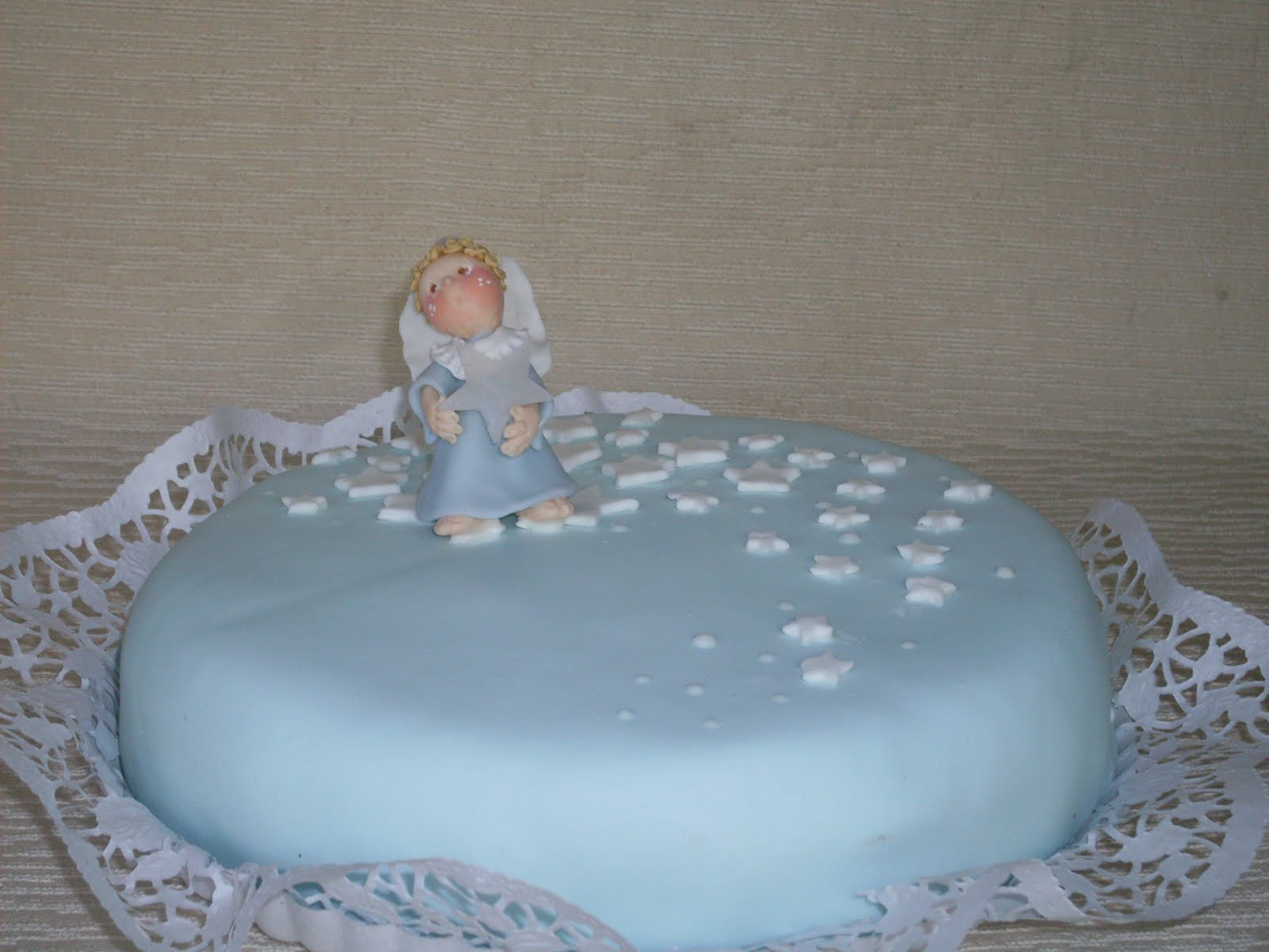 Tortas tematicas: Torta para bautismo