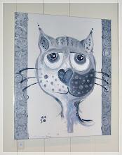 Kattebilde: Tilfreds