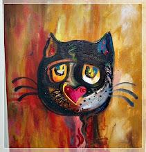 Kattebilde: Sart