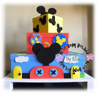 para o aniversário de 1 ano do Falcão Neto, a casa do Mickey Mouse