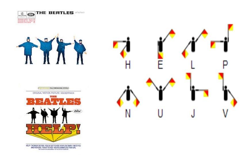 help the beatles letras: