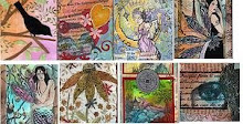 Some of my Collage ATCs