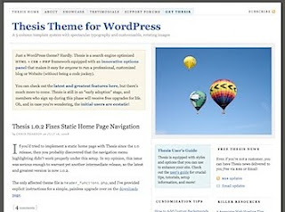 best wordpress thesis sites
