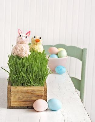 pom-pom-animals-de-52486403 Enfeites lindinhos para enfeitar a sua casa nesta Páscoa