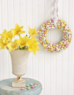 almond-wreath-de Enfeites lindinhos para enfeitar a sua casa nesta Páscoa