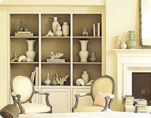 Decorating On The Fly Decorating A Bookcase For A