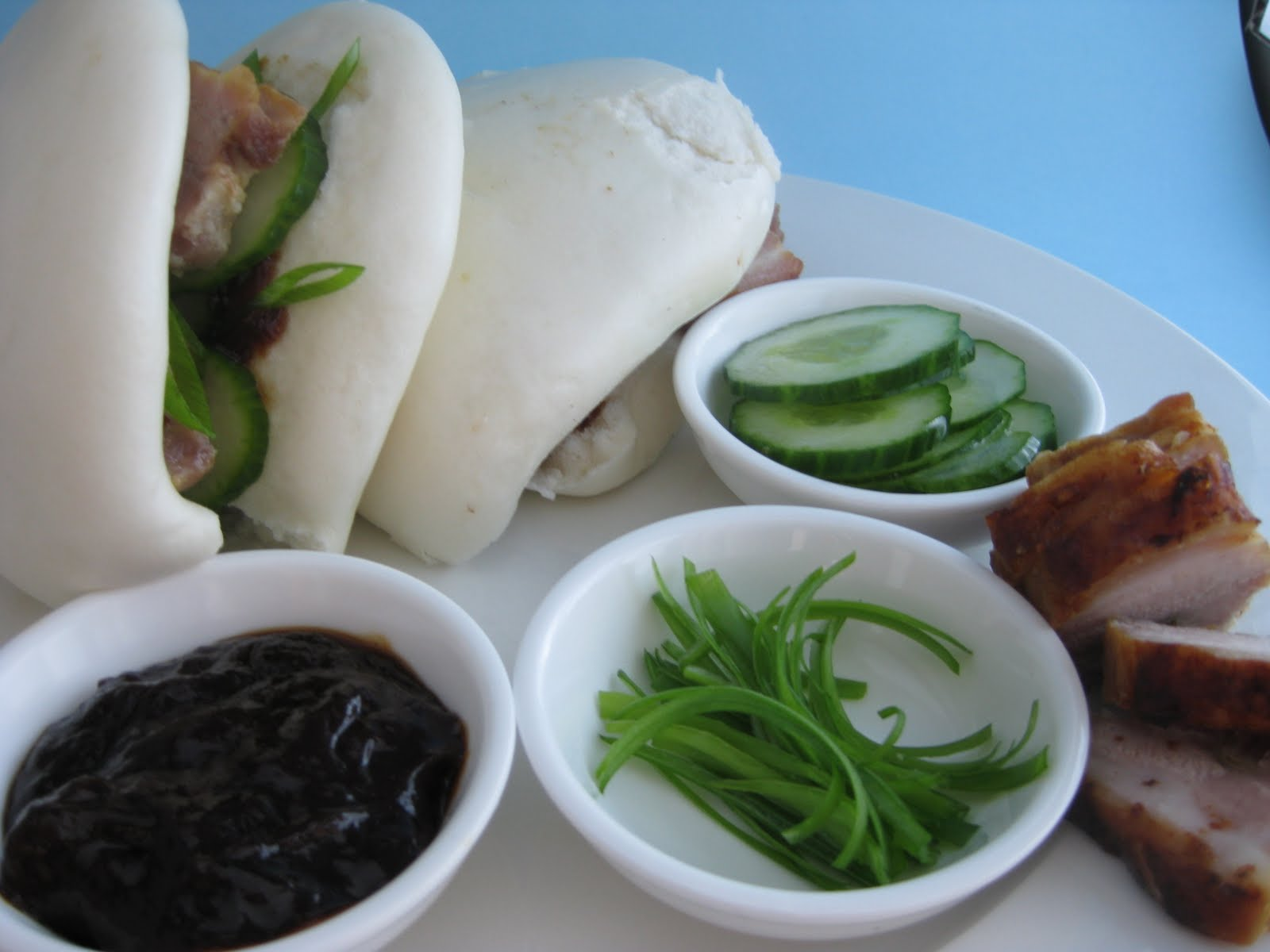 how to make steamed pork buns without a steamer