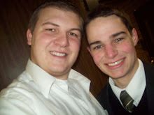 Elder Paul and Elder Davis at the MTC December, 2008