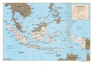 peta indonesia komplit