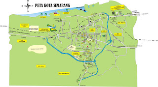 map of semarang indonesia