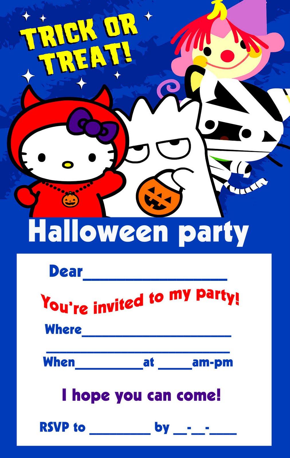 Free Halloween Party Invitation Templates was best invitations ideas