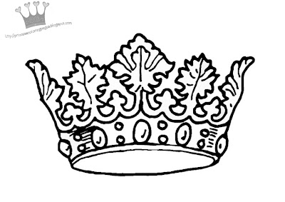Interactive Magazine C FOR CROWN COLORING PAGE