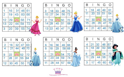 photo regarding Disney Bingo Printable identify Disney princess printable bingo playing cards Trials Eire