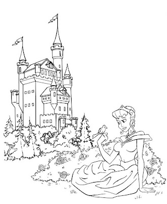 Charmander pokemon coloring pages for Princess and castle coloring pages