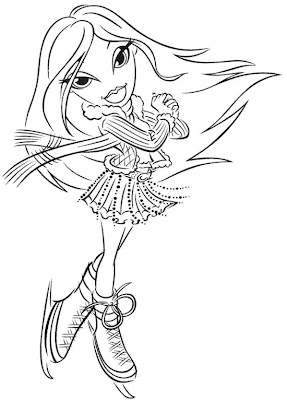 Bratz Coloring Pages on Bratz Coloring Pages  Bratz Coloring Pages