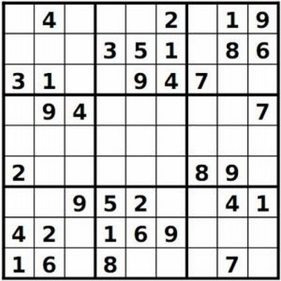 photo regarding Fill in Puzzles Printable referred to as printable simple sudoku: Web site Printable Very simple Sudoku