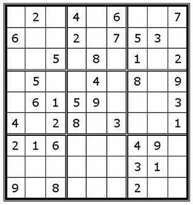 Sudoku Easy Printable on Freesoduko For Kids