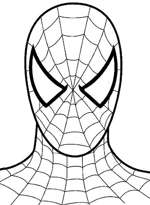 Spiderman Coloring Sheets on Spiderman Coloring