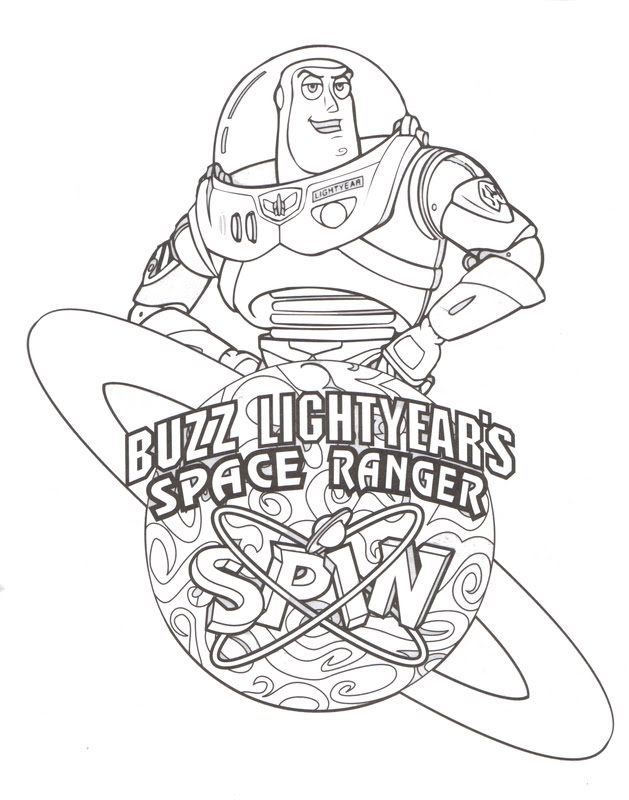 heres a cool coloring picture of buzz lightyear to print and color