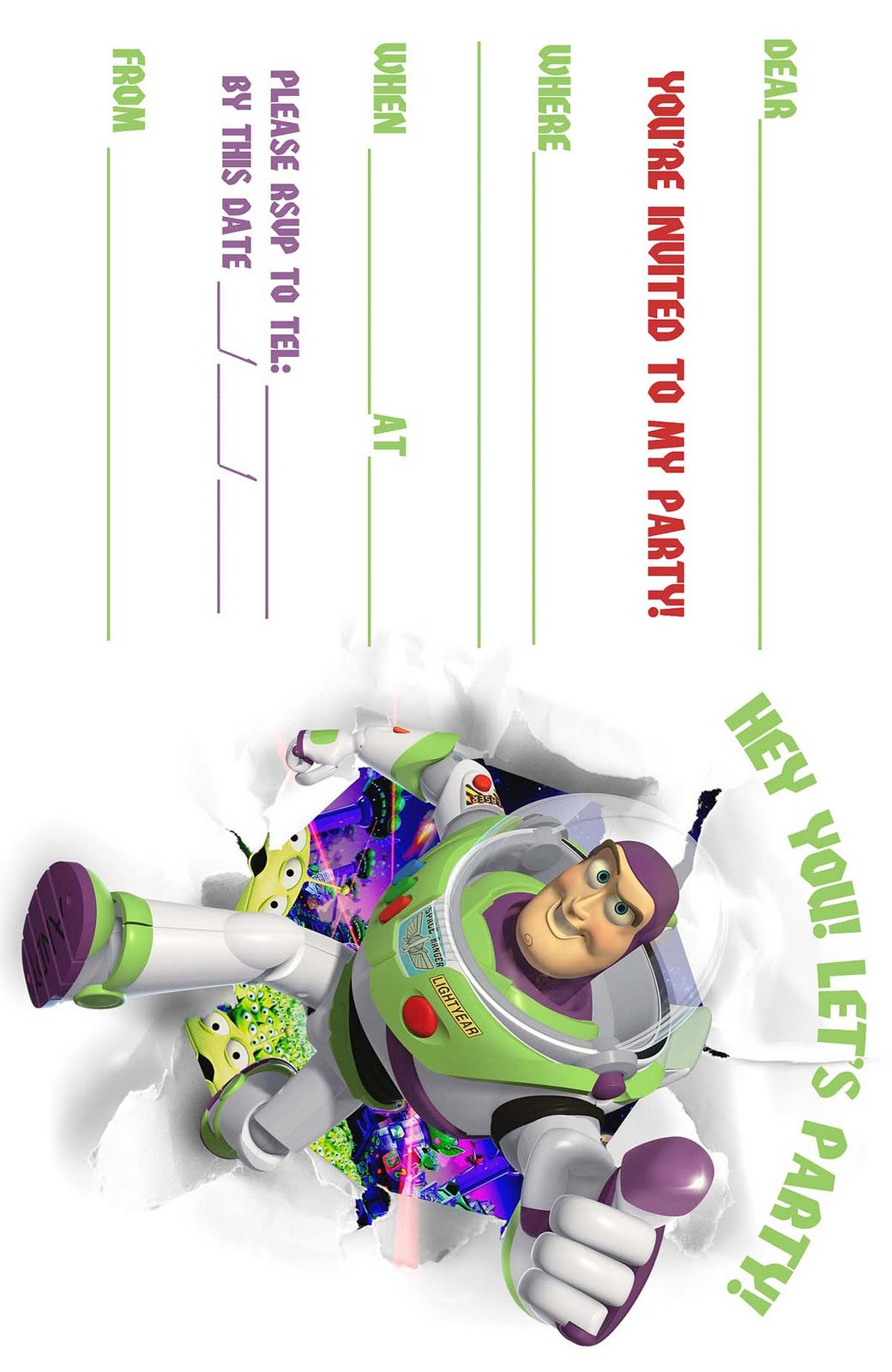 Refreshing image intended for free printable toy story invitations