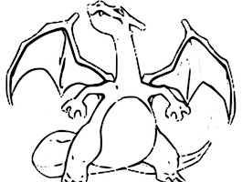 Pokemon Charizard Coloring Pages To Print Out