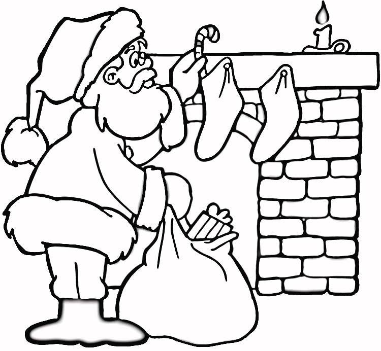 Christmas Coloring Pages For Kids To Print