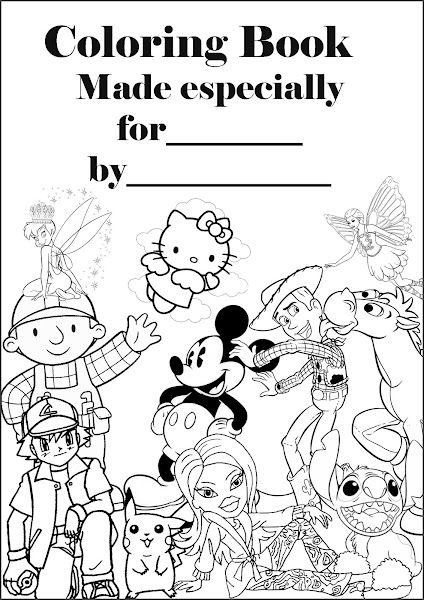 Make Your Own Superhero Coloring Page