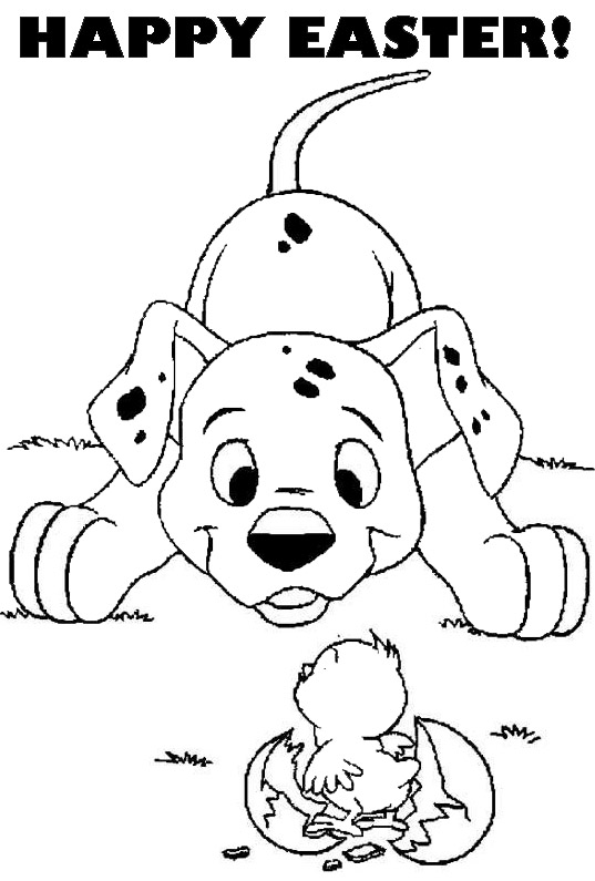 Kids Coloring Pages Easter