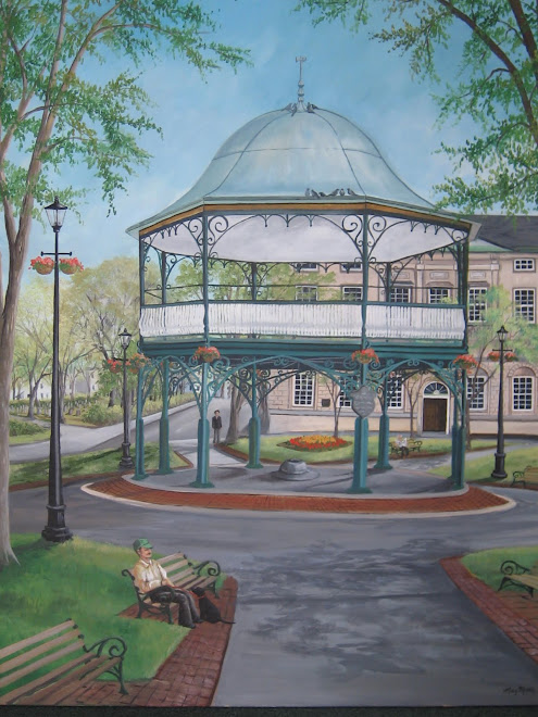 saint john bandstand,  N.B