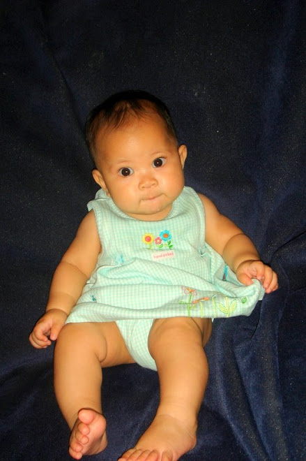 This photo was submitted in a contest in which they wanted to show in a book of beautiful babies!