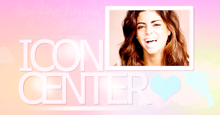 Icon Center  ▪▪ Isabel Burr Colombia // Los mejores iconos de Isabel Burr!