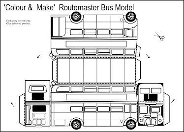 Routemaster bus model