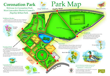 Coronation Park, Map Interpretation