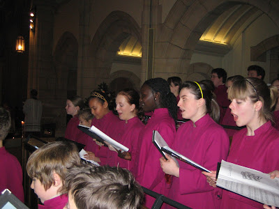 ... congregation in the singing of much loved Christmas carols such as 'See ...
