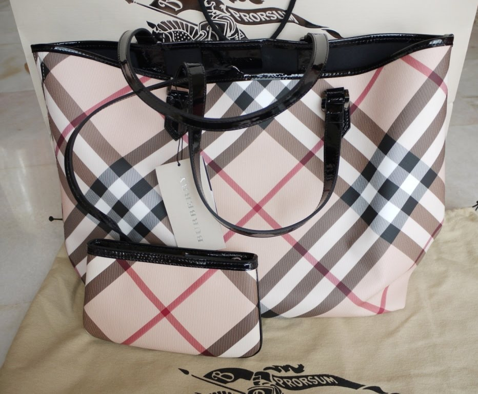Burberry Tote Size