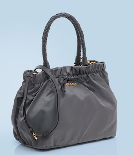 Prada Top Handle Grey Tote C RM2350 only!